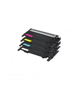INKOEM Tóner Compatible Samsung CLP406C Cian