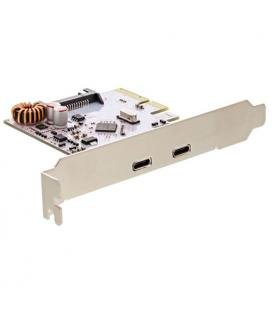 Inline 76660C. Tarjeta PCIe x4 con 2 puertos USB 3.1 Tipo C.
