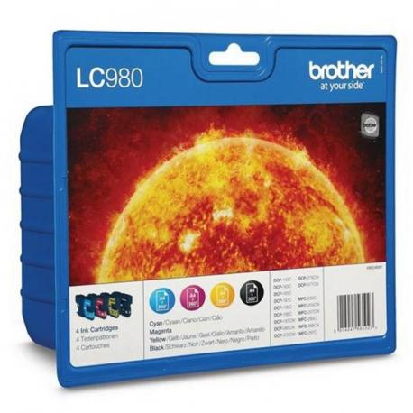 CARTUCHO TINTA BROTHER LC-980 VALUE - Imagen 1