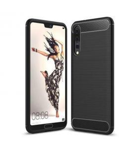 Funda de silicona negra para Huawei P20 Pro