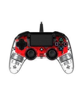 GAMEPAD NACON PS4 CRISTAL ROJO - Imagen 1