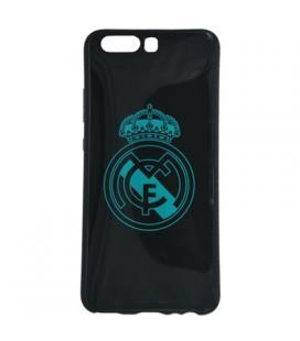 Real Madrid Carcasa Huawei P10 Negra Escudo