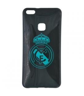 Real Madrid Carcasa Huawei P10 Lite Negra Escudo