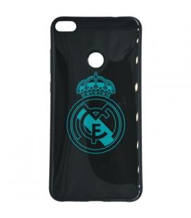 Real Madrid Carcasa Huawei P8 Lite 2017 Negra Escu