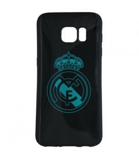 Real Madrid Carcasa Samsung S7 Negra Escudo
