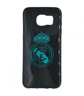 Real Madrid Carcasa Samsung S7 Edge Negra Escudo