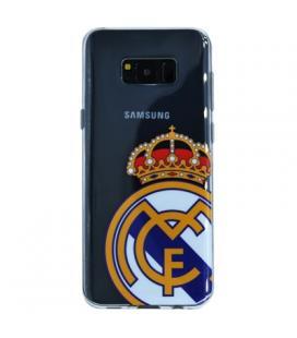 Real Madrid Carcasa Samsung S8 Plus Negra Escudo