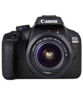 Camara digital reflex canon eos 4000d + 18-55 dc/ cmos/ 18mp/ digic 4+/ full hd/ 9 puntos de enfoque/ wifi - Imagen 1