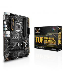 ASUS TUF B360-PLUS GAMING Intel B360 LGA 1151 (Socket H4) ATX placa base