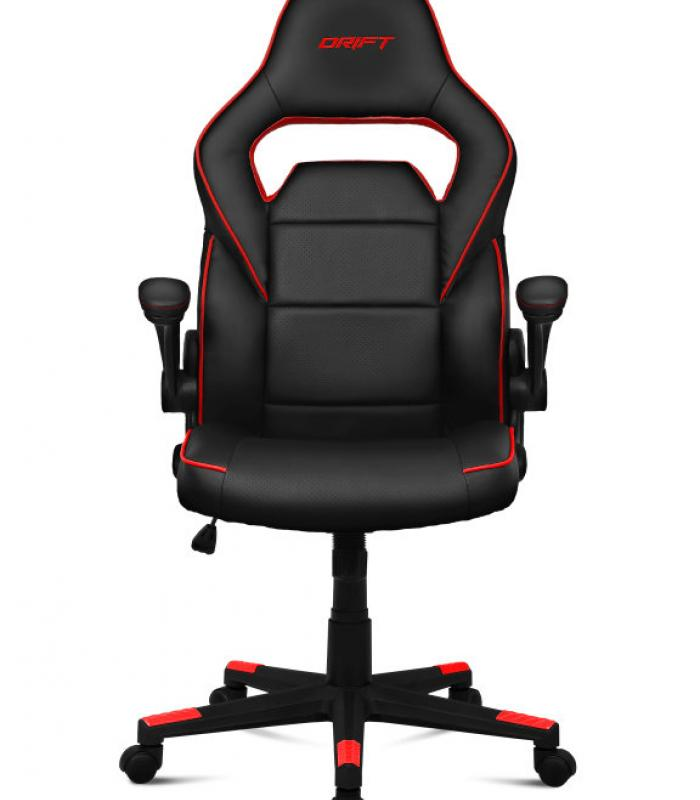 Silla gaming drift dr75 negro rojo for Rebajas sillas gaming