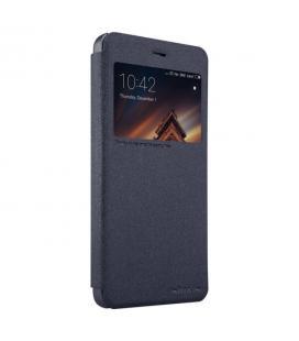 Funda con ventana negra para Xiaomi Redmi 4A