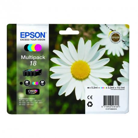 CARTUCHO TINTA EPSON T180640 MULTIPACK - Imagen 1