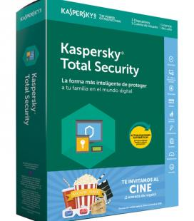 Kaspersky Lab Total Security 2018 3licencia(s) 1año(s) Full license Español - Imagen 1