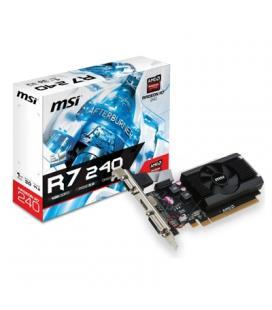 MSI VGA AMD RADEON R7 240 1GD3 64B LP 1GB DDR3 - Imagen 1