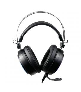 AIM Auriculares  RGB - DR50mm-7.1 C/Soft Negros
