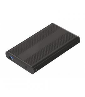 """TooQ TQE-2524B caja HD 2.5"""" SATA3 USB 3.0 Negra - Imagen 1"""