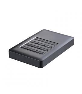 """TooQ TQE-25DES01B caja HD 2.5"""" SATA3 USB 3.0 Cifr."""