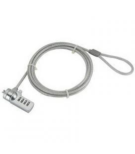 iggual Cable de Seguridad Portátiles (4 dígitos)