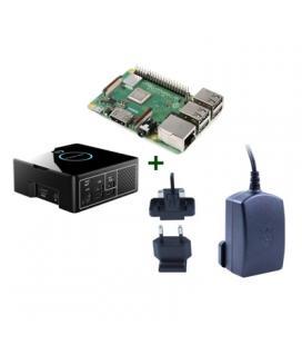 Raspberry kit Pi 3 B+ + Desktop + fuente - Imagen 1