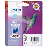 Cartucho cian claro epson t0805 - colibri
