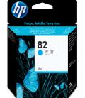 HP No. 82 Cyan ink cartridge, 69ml C4911A - Imagen 4