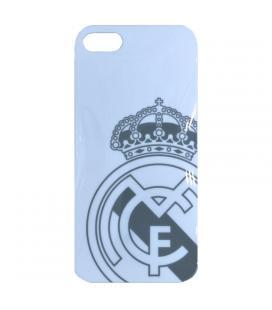 Real Madrid Carcasa iPhone 5 Blanca Escudo