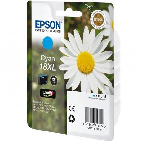 CARTUCHO EPSON 18XL 6.6ML CIAN - Imagen 1