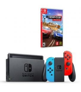 CONSOLA NINTENDO SWITCH RED&BLUE + - Imagen 1