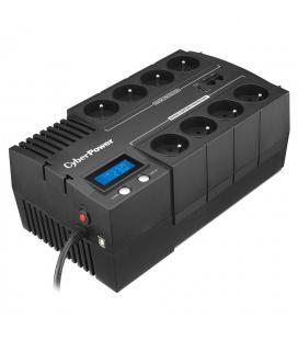 Sai línea interactiva cyberpower br700elcd - 700va/420w - salidas 8*schuko - formato bloque