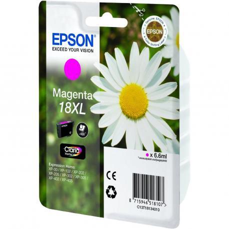CARTUCHO EPSON 18XL 6.6ML MAGENTA - Imagen 1