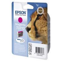 Cartucho tinta magenta epson t0713 - 5.5ml - guepardo - compatible segun especificaciones