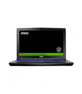 "MSI WE62-2007XES i7-7700 16 256+1TB M1200 DOS 15"""