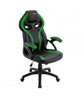 Silla gamer mars gaming mgc118bg verde - reposacabezas acolchado - altura regulable - piston clase 4 - hasta 130 kg