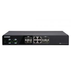QNAP SWITCH 8 PUERTOS 10GBPS 4 SFP+ 8 SPF+ Y RJ45 COMBO QSW-