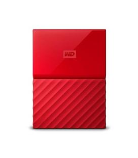 HD EXT USB3.0 2.5 2TB WD MY PASSPORT ROJO