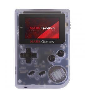 Consola retro mars gaming mrbw - incluye 151 juegos - lcd 2'/5.1cm - 6 botones - blanca