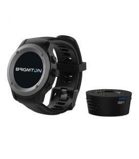 "Brigmton BWATCH-100GPS 1.3"" IPS GPS (satélite) Negro reloj inteligente"