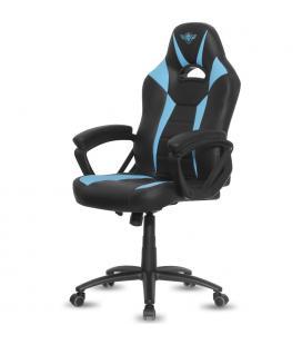 Silla spirit of gamer fighter blue - inclinación / altura regulables - brazos xl fijos - 5 ruedas 360º - hasta 120kg