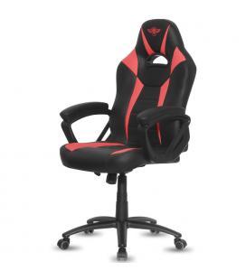 Silla spirit of gamer fighter red - inclinación / altura regulables - brazos xl fijos - 5 ruedas 360º - hasta 120kg