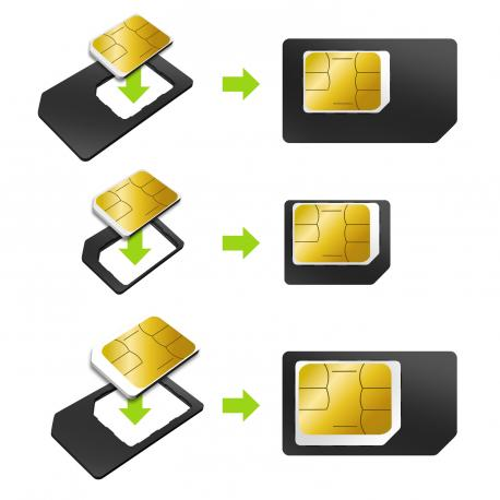 PACK MUVIT 3 ADAPTADORES SIM - Imagen 1