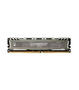 MEMORIA CRUCIAL DIMM DDR4 8GB 2666MHZ (PC4-21300) CL16 SR BALLISTIX SPORT LT GREY