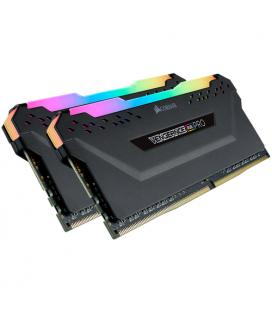 MEMORIA CORSAIR DDR4 16GB 2X8GB PC 2666 VENGEANCE RGB PRO BLACK