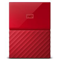 "WD My Passport 4TB 2.5"" USB 3.0 Rojo"