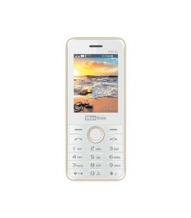MOVIL SMARTPHONE MAXCOM CLASSIC MM136 BLANCO/DORADO