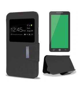 X-One Funda Libro Samsung J5 Negro