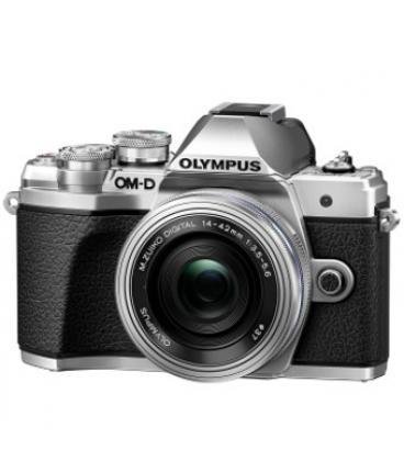 Camara digital olympus e-m10 mark iii om-d plata 16.1mp/14-42mm