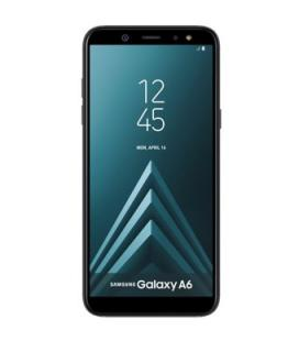 "Telefono movil smartphone samsung galaxy a6 negro / 5.6"" / 32gb rom / 3gb ram / 16mpx - 16mpx / octa core / 4g / dual sim / lect"