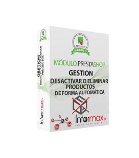 MÓDULO PRESTASHOP INFORMAX DESACTIVAR/ELIMINAR PRODUCTOS - Imagen 1