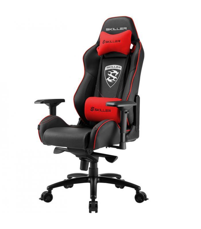 Sharkoon skiller sgs3 asiento acolchado respaldo acolchado for Asiento silla oficina