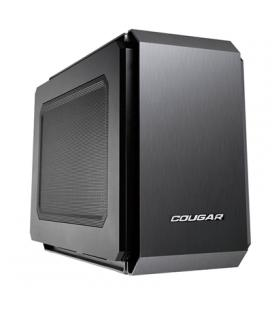 Cougar Caja Miditorre QBX Lateral Transparente